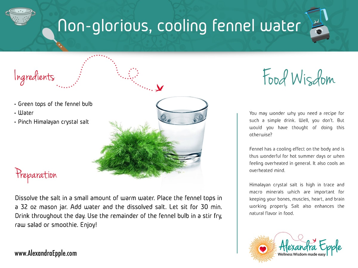 Fennel Water