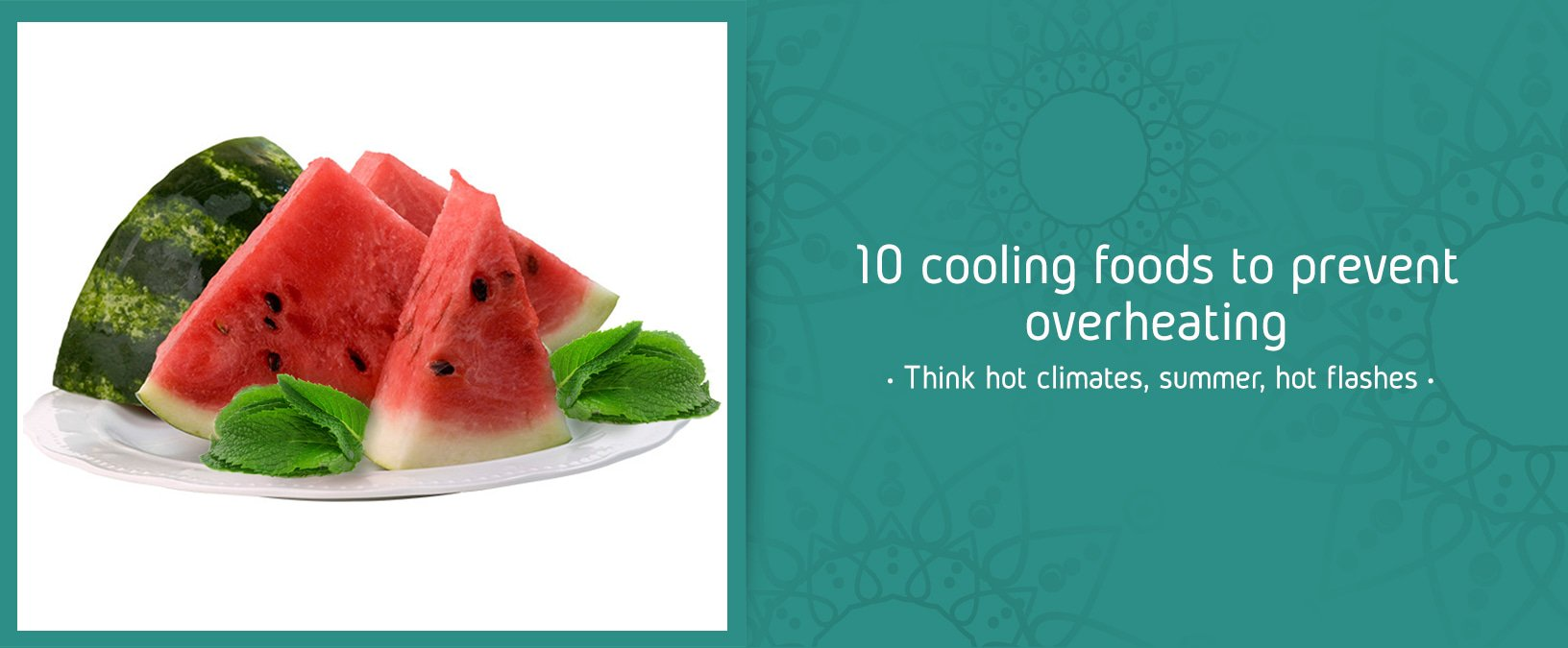 10 cooling foods