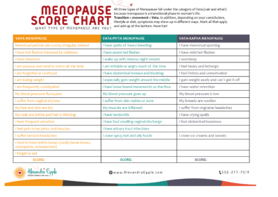 What type of Menopause are you?