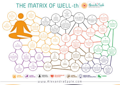 The Matrix of Well-th