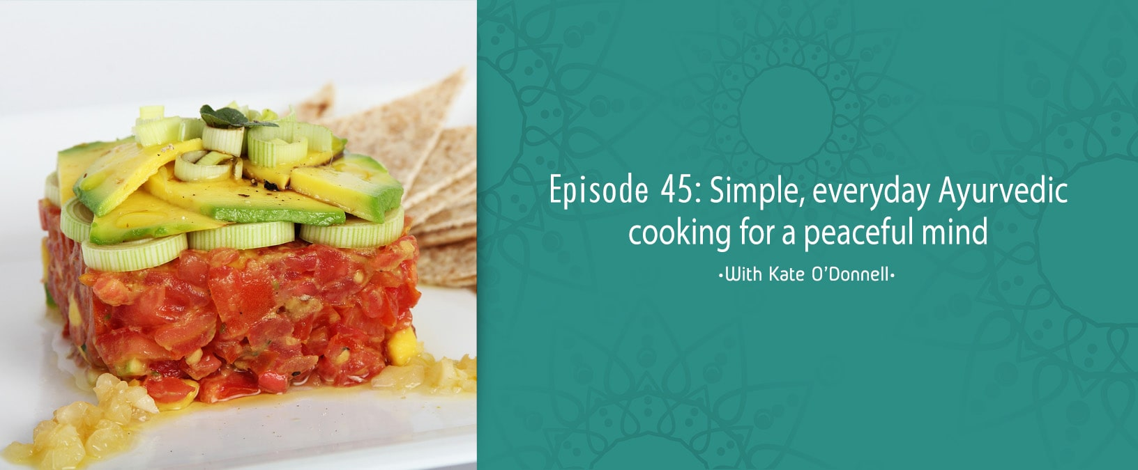 Simple, everyday Ayurvedic cooking for a peaceful mind